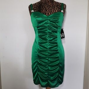 Love Tease NEW Green Formal Dance / Cocktail Dress